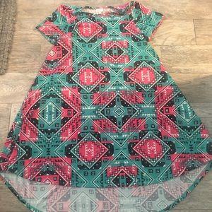LuLaRoe Dresses - Lularoe Carly in Aztec print